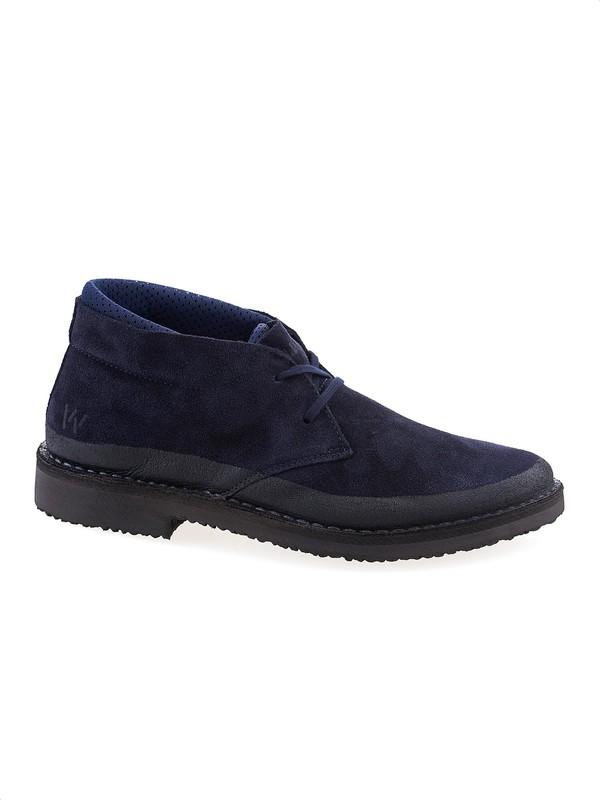 Wally Walker - Navy blue suede desert boot c6d2be7a3f7