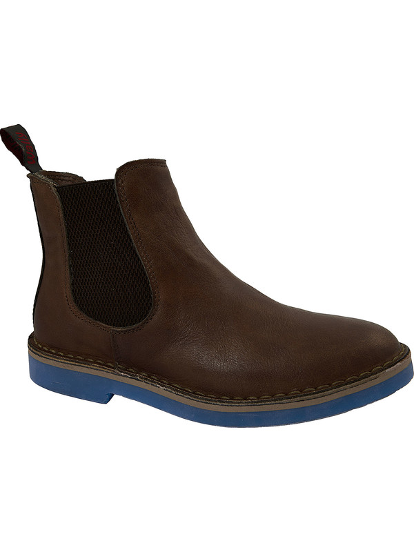 79.90. - 44%. Wally Walker. Brown leather Beatle boots 16e34890d90