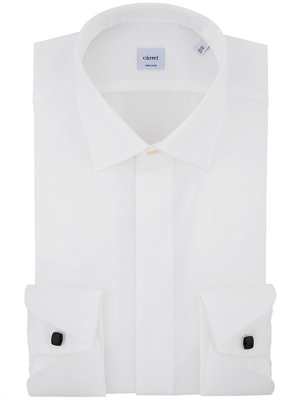 quality design 8bda9 f2faa Camicia cerimonia bianca con collo classico - Càrrel