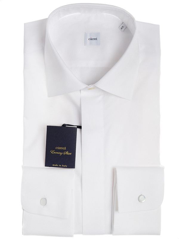 save off 2a829 aa299 Camicia diplomatica Càrrel in cotone egiziano made in Italy