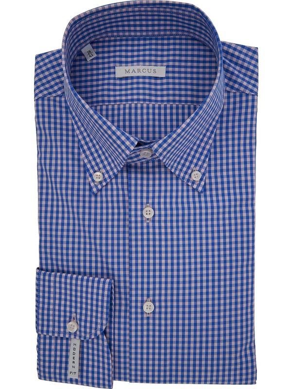 Blu Camicia Camicia Camicia Blu Quadri Uomo Uomo Quadri Quadri Camicia Blu Uomo FJ3TK1lc