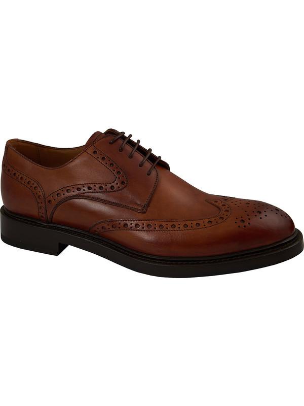 982a1e343a6c Chaussures en cuir brogue brun pour hommes
