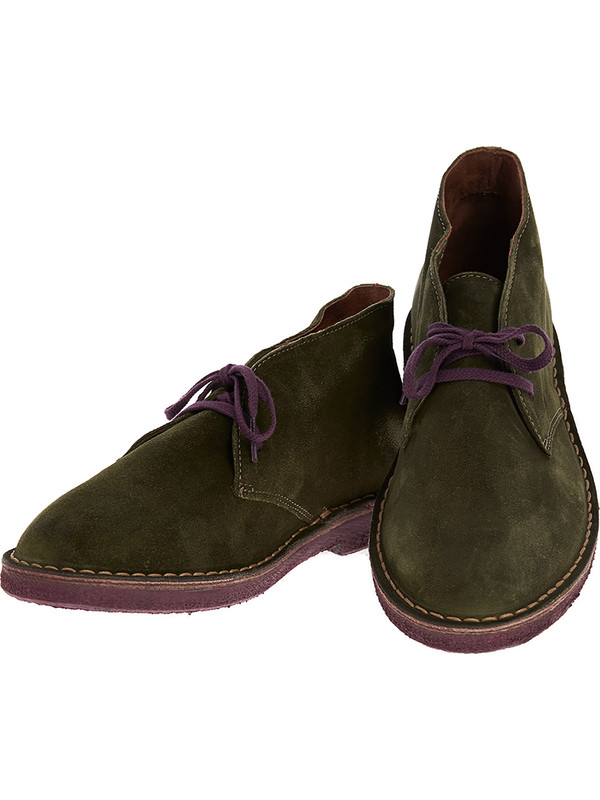 pretty nice a4c82 2072c Green Suede Shoes desert boots Wally Walker