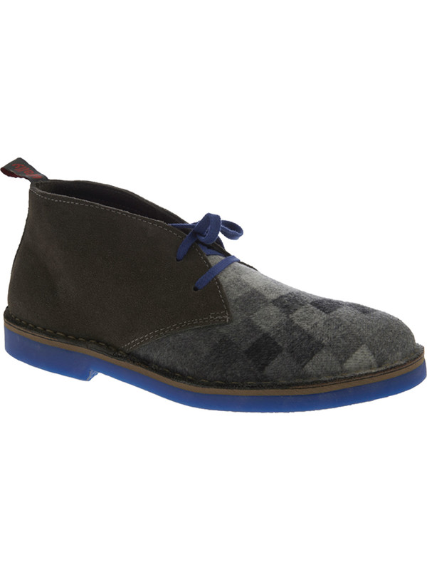 reputable site 29647 87021 Laced shoes men's leather and wool Wally Walker