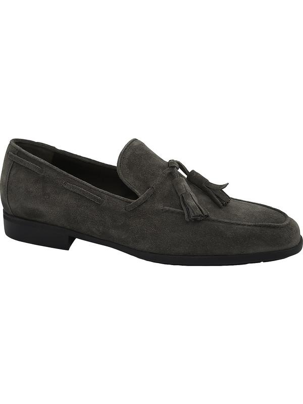 dark grey suede with tassels J. Holbens