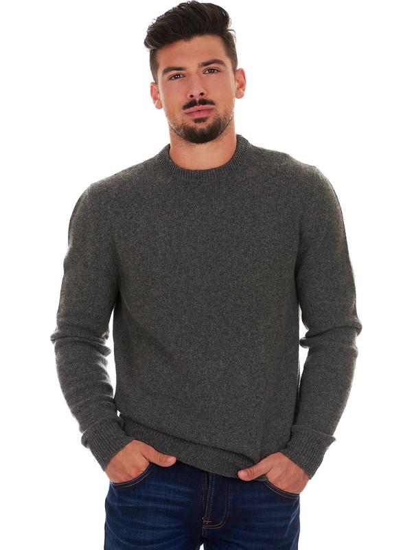 Grauer Pullover Herren