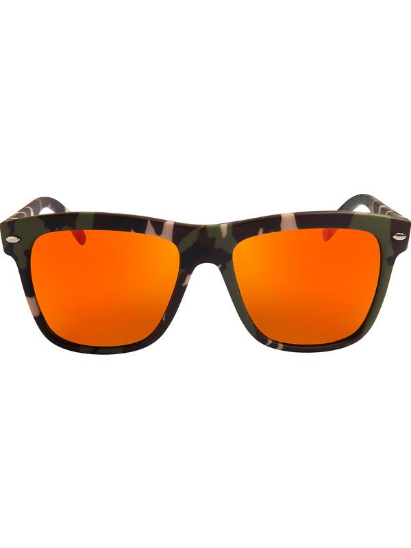 Occhiali da sole mimetici con lenti arancioni a specchio spektre - Occhiali da sole specchiati spektre ...